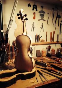 竹のヴァイオリン②